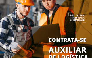 TRABALHE CONOSCO - Auxiliar de Logística – Montes Claros/MG