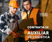 TRABALHE CONOSCO - Auxiliar de Logística – Betim/MG